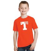Youth Orange T Shirt-Flag T