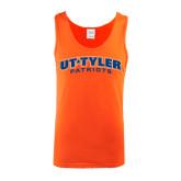 Orange Tank Top-UT Tyler Arched