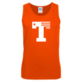 Orange Tank Top-Flag T