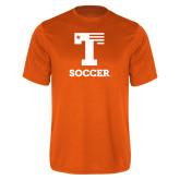 Performance Orange Tee-Flag T - Soccer