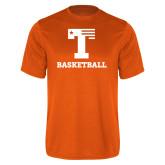 Performance Orange Tee-Flag T - Basketball