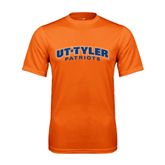 Performance Orange Tee-UT Tyler Arched