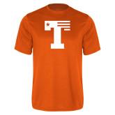 Performance Orange Tee-Flag T