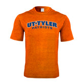 Performance Orange Heather Contender Tee-UT Tyler Arched