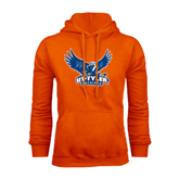 Orange Fleece Hood-Official Logo