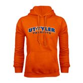 Orange Fleece Hood-UT Tyler Arched