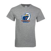 Grey T Shirt-UT Tyler w/ Eagle Head