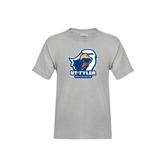 Youth Grey T-Shirt-UT Tyler w/ Eagle Head