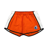 Ladies Orange/White Team Short-UT Tyler w/ Eagle Head