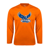Syntrel Performance Orange Longsleeve Shirt-Official Logo