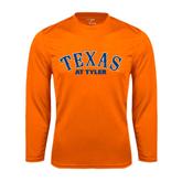 Syntrel Performance Orange Longsleeve Shirt-Texas at Tyler