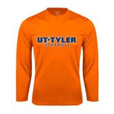 Syntrel Performance Orange Longsleeve Shirt-Softball