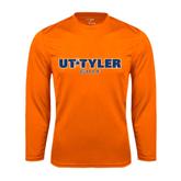 Syntrel Performance Orange Longsleeve Shirt-Golf