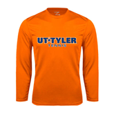 Syntrel Performance Orange Longsleeve Shirt-Tennis