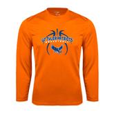 Syntrel Performance Orange Longsleeve Shirt-Basketball in Ball