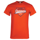 Orange T Shirt-Championship Gear