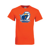 Orange T Shirt-UT Tyler w/ Eagle Head