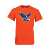 Orange T Shirt-Official Logo Distressed