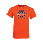 Orange T Shirt-Basketball in Ball