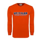 Orange Long Sleeve T Shirt-Cross Country