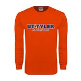 Orange Long Sleeve T Shirt-Athletics