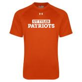 Under Armour Orange Tech Tee-UT Tyler in Box Patriots