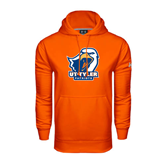Under Armour Orange Performance Sweats Team Hood-UT Tyler w/ Eagle Head