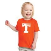 Toddler Orange T Shirt-Flag T