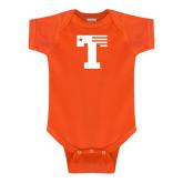 Orange Infant Onesie-Flag T