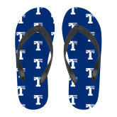 Full Color Flip Flops-Flag T