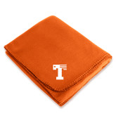 Orange Arctic Fleece Blanket-Flag T
