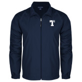 Full Zip Navy Wind Jacket-Flag T