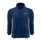 Fleece Full Zip Navy Jacket-UT Tyler Arched