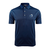 Navy Dry Mesh Polo-UT Tyler w/ Eagle Head