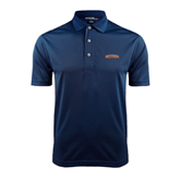 Navy Dry Mesh Polo-UT Tyler Arched