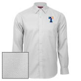 Red House White Diamond Dobby Long Sleeve Shirt-Flag T