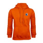 Orange Fleece Hood-UT Tyler w/ Eagle Head