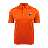 Orange Dry Mesh Polo-UT Tyler w/ Eagle Head