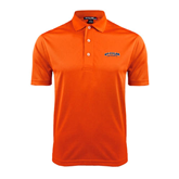 Orange Dry Mesh Polo-UT Tyler Arched