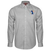 Red House Grey Plaid Long Sleeve Shirt-Flag T