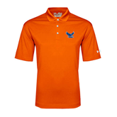 Under Armour Orange Performance Polo-Official Logo