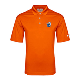 Under Armour Orange Performance Polo-UT Tyler w/ Eagle Head