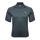 Charcoal Dri Mesh Pro Polo-UT Tyler w/ Eagle Head