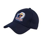 Navy Heavyweight Twill Pro Style Hat-UT Tyler w/ Eagle Head