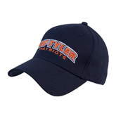Navy Heavyweight Twill Pro Style Hat-UT Tyler Arched