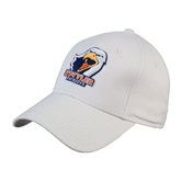White Heavyweight Twill Pro Style Hat-UT Tyler w/ Eagle Head