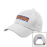 White Heavyweight Twill Pro Style Hat-Championship Gear