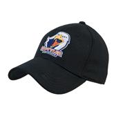 Black Heavyweight Twill Pro Style Hat-UT Tyler w/ Eagle Head