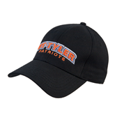 Black Heavyweight Twill Pro Style Hat-UT Tyler Arched