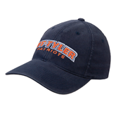 Navy OttoFlex Unstructured Low Profile Hat-UT Tyler Arched